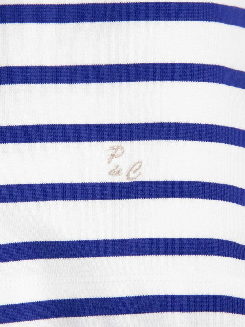 ポンデシャロン(Pont de Chalons) 天竺ボーダー バスクシャツ