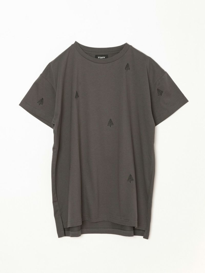キッピス(Pont de Chalons×kippis)|Kuusipuu 刺繍Tシャツ